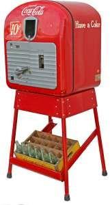1957 Vendo Coke machine