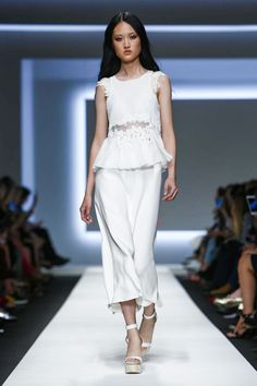 Ermano Scervino Fashion Show Ready to Wear Collection Spring Summer 2016 in Milan
