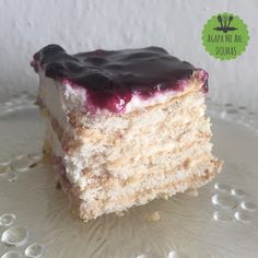γλυκο ψυγειου Greek Desserts, Greek Recipes, Summer Cakes, Pastry Art, Amazing Cakes, Vanilla Cake, Sweet Home, Sweet Sweet, Food And Drink