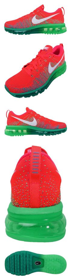 official photos 792bf be1a3  310 - Nike Women s Wmns Flyknit Max, BRIGHT CRIMSON WHITE-TURBO GREEN-LTL   shoes  nike  2014