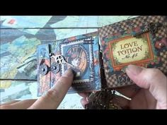 Steampunk Spells Envelope Book video by Rhea! #graphic45 #videos