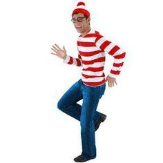 Disfraz de ¿Dónde está Wally? Uno de los disfraces más buscados para estos carnavales...