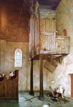 Schilderij Marius van Dokkum; a capella :)