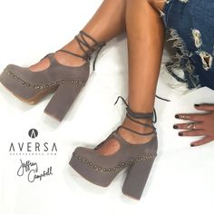 c2a8a6a6086e Jeffrey Campbell Bettina taupe suede. Aversa Shoes