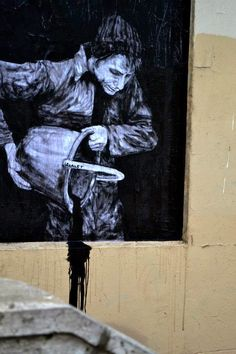 "Street Art News: Levalet ""Night And Day"" New Street Pieces - Paris,..."