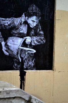 "Street Art News: Levalet ""Night And Day"" New Street Pieces - Paris,..."