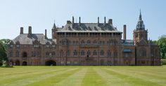 Mount Stuart House in Rothsay, Isle of Bute, Scotland, often cited as one of the world's most impressive neo-Gothic mansions, Stuart House, Isle Of Bute, Gothic Mansion, Westminster, Barcelona Cathedral, Scotland, Louvre, Mansions, Building