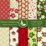 Christmas Scrapbook papers...