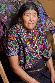 The women of Zinacantan in Chiapas embroider astonishing clothes. From a book in progress by Chip Morris. Photo by Joe Coca