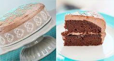 Schokoladen-Pflaumen-Torte mit Buttercreme
