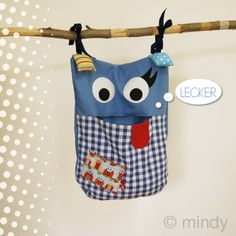 Pyjama - monster Patroon + uitleg How to