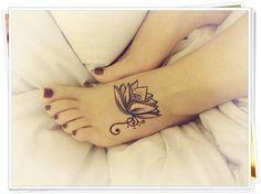 Tatuagem De Flor De Lotus