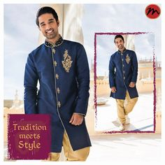 Flaunt a style that truly compliments our heritage #manishcreations #Indianwear #touchofheritage #heritagefashion