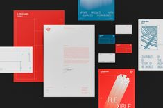 Long Van Group on Behance Corporate Identity, Visual Identity, Brand Identity, Branding, Japan Technology, Gold Book, Eastern Philosophy, Behance, Red Books
