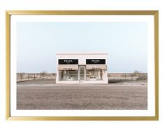 Prada Marfa art print Canvas Art Prints, Pastel, Wall Decor, Couch, The Originals, Travel, Etsy, Vintage, Pie