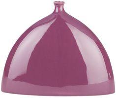 Surya Eggplant Tara Ceramic Table Vase [TAV832-M]