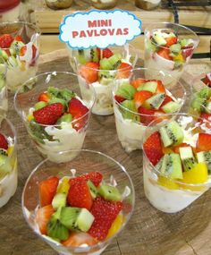 Fruit dessert - healthy options