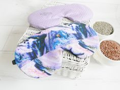 Organic Weighted Eyepatch,Marble, Washable Cover,Aromatherapy Lavender Flaxseed, Adjustable Sleep Mask Made by SleepingOwl Rem Sleep, How To Sleep Faster, Flaxseed, Sleep Mask, Aromatherapy, Bean Bag Chair, Lavender, Marble, Organic
