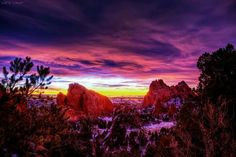 Sunrise in Colorado. .Lars Leber Photography
