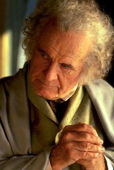 Bilbo (Ian Holm) Lord of the Rings