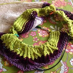 It's a start! Always fun to cast on  #littlenutmegproductions #meghanjoneslnmp #makersofinstagram #knittingpattern #knittersofig #knittingaddict #knits #knitted #knit #knits #knitlove #knittersoftheworld #knittersofinstagram #design #designer #knitdesign #knitdesigner #knitting_inspiration #knitspiration #knitstagram @luxadornaknits #knittinglife #knittinglove #knitting #shawlknittersofinstagram #shawl  #stripes #lace #shawlknittersofinstagram #shawlknitter