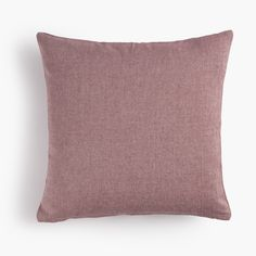 Cojín rojo de algodón. Red cotton cushion.