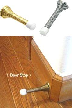 Pack Of 5 Spring Door Stop Door Stop Stopper Skirting Wall Mounted Ebay In 2020 Spring Door Door Stop Door Stopper