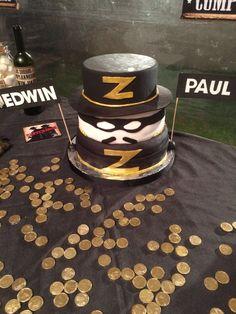 El Zorro cake.