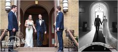 This #Chicago wedding at Union League Club of Chicago was elegant, stylish and had the magical surprise of a snowfall in April!  Photos by ZR Weddings