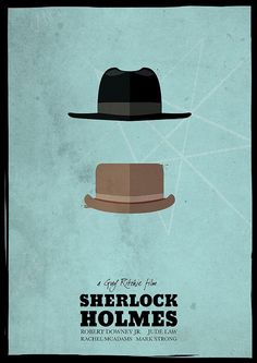 Sherlock Holmes (2009) - minimalist poster | Flickr - Photo Sharing!