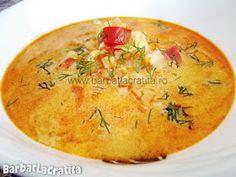 Ciorba de varza cu smantana Thai Red Curry, Soup Recipes, Cantaloupe, Food And Drink, Ethnic Recipes, Soap Recipes