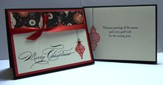 Hand-Penned Tree Trimmed Christmas by Shelly923 - Cards and Paper Crafts at Splitcoaststampers