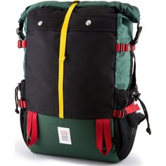 Topo Designs Mountain Roll Top Backpack | Forest