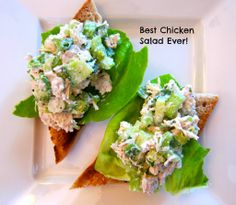 Lovely, flavourful Chicken Salad recipe from Sugar, Spice and Bacon