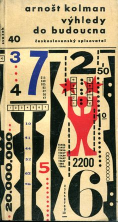 Book cover, Prague, 1962.