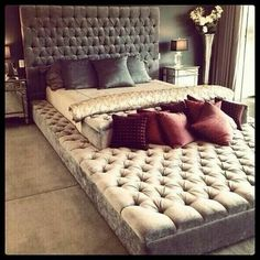 1) place to do movie nights & other things...2) no mad sleeping on the couch, just go to the lower level lol.
