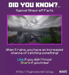 Minecraft did you know #005