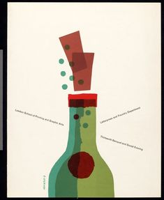 Tom Eckersley - Bottle & Corks