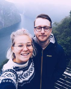 To see the world with you  #norwegiansweater #norway #geiranger #travel #love
