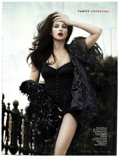 monica bellucci by signe vilstrup for vanity fair italia no.172nd may 2012