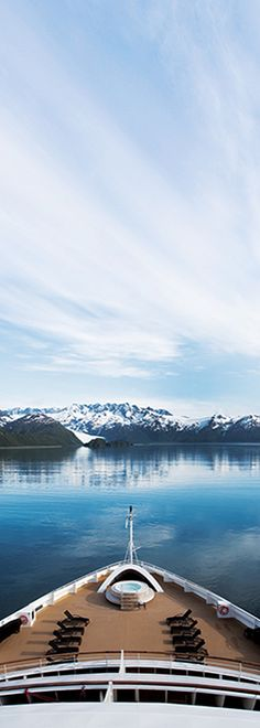 Take in all the beauty of wondrous Alaska on an ultra-luxury Seabourn cruise.  From Vancouver to Seward, come see where fascinating wildlife meets undeniable beauty. With exceptional, natural charm and scenic splendor, Alaska is a world-class cruising destination.