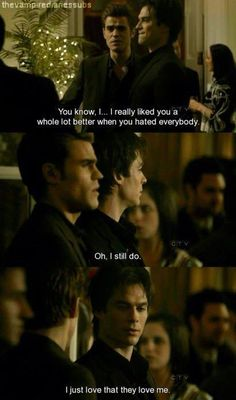 the one and only Damon Salvatore (the vampire diaries)