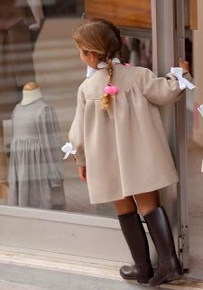 How nice to see little girls dressed their age.