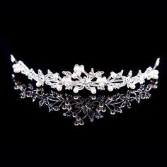 Women's+Alloy+Headpiece+-+Wedding/Special+Occasion/Outdoor+Tiaras+–+USD+$+5.99