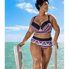 Plus Size Swimwear & CoverUps Round Up http://www.bigbeautifulblackgirls.com/plus-size-swimwear-coverups-round/