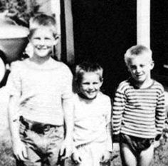 If you were born in 1946 - so too was the youngest Beach Boy, Carl Wilson - here's (L-R) Brian, Carl and Dennis Wilson ca 1950.
