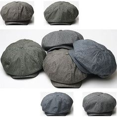 8 panel newsboy cap pattern - Google Search