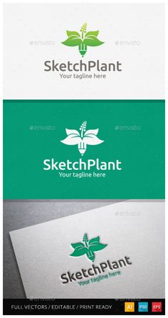Sketchplant Logo Template