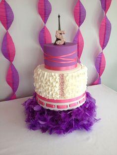 Fancy Nancy Cake — Birthday Cake Photos