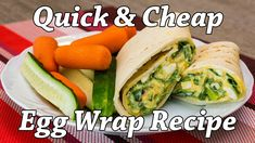 For blog on this recipe, http://getfitwithmindyeverywhere.tumblr.com/post/145663531747/cheap-easy-tasty-egg-wrap-recipe-for-quick-lunch-or Make a delicious vegetarian egg wrap in under 5 min for lunch or dinner. Enjoy!